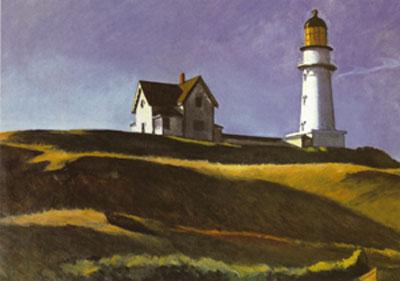 Lighthouse Hill, Edward Hopper