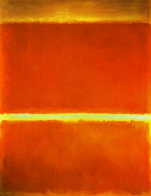 Saffron, Mark Rothko